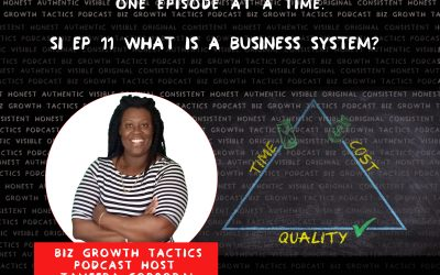 11: What Are Business Systems? How Do We Use Them For Business Growth?